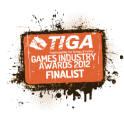 Finalist - TIGA Games Industry Awards 2012 (3) small